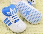 ADlDAS schuhe crib shoes birth baby 00 - 18M Cnd Syn Leder Leather SKATER style