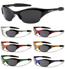 2 Pairs Kids X-Loop Sport Wrap Semi Rimless Sunglasses UV Protect Boy Girl 2295