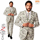Opposuit Cashanova Mens Fancy Dress Outfit Stag Do Party Cash Festival Money New