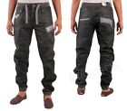 NEW MENS LATEST ETO EM409 CUFFED JOGGER IN BLACK COLOUR ONLY 30 R SIZE