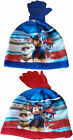 Paw Patrol Hat and Gloves Set Age 2-4,4-8.come in red or blue