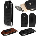 5.5 inch Phone PU Leather Waist Hang Case Cover Belt Holster Clip Pouch Sleeve