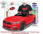 CLASSIC 2016 MUSTANG CONVERTIBLE  ILLUSTRATED T-SHIRT MUSCLE RETRO SPORTS CAR