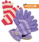 Regatta Tootie Fruit Girls Warm Winter Knitted Gloves RKG009
