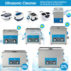 Ultrasonic Cleaner Ultra Sonic Bath Cleaning Tank Timer Heater ,UK Free shipping