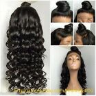 """Wave Curly 100% Indian Remy Human Hair Full Lace Wigs/Lace Front Wigs 12""""-22"""""""