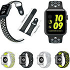 New For Apple Watch NlKE+ 38MM Series 2/1 Replacement Silicone Sports Wrist Band