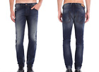 """DIESEL """"Belther"""" Regular Slim Tapered Leg Blue Jeans 0608A NEW NWT"""