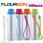 Floureon 3400mAh Universal Mini Portable USB External Battery Power Bank Charger