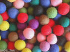 Pom Pom Handmande Nursery Felt Beads Balls100% Woolen 2cm Craft Garland Ball