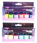 Beauty UK Statement Nails 6 piece Gift Set of  Nail Polishes *2 To choose from*