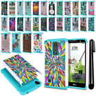 For LG Stylus 2 Plus Stylo 2 Plus MS550 K535 Hybrid Shock Proof Case Cover + Pen