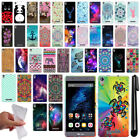 For BLU Energy X Plus Cute Design TPU SILICONE Soft Skin Case Phone Cover + Pen