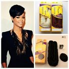 Short Nature 27 Pieces+1 Closure 4'' Hair Weave Virgin Human Hair Extension Wave