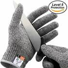 AUKMONT Cut Resistant Gloves High Performance Level 5 Protection, Food Grade.