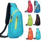 Unisex Sport Outdoor Hiking Casual Crossbody Shoulder Sling Chest Bags Backpack