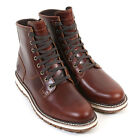 Timberland Men's Britton Hill Plain Toe A1842 Leather Boot Wheat