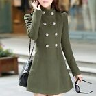 Fashion Women Ladies Warm Korean Long Coat Winter Jacket Trench Overcoat Outwear