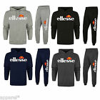 Ellesse Logo Cotton Jogging Suit Tracksuit Hooded Top Bottoms Track Suit New Gym