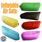 Inflatable Couch Air Sleeping Sofa Lounger Bag Camping Bed Portable