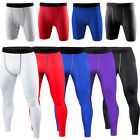 Mens Football Basketball Under Compression Shorts/Long Pants Base Layers Tights