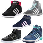 Womens Adidas Neo Hoops Vulc Daily Twist Mid Trainers Hi Top Vl Gym Sports Shoes
