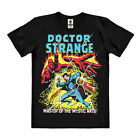 Marvel Comics - Doctor Strange Easy Fit  Organic T-Shirt - schwarz - LOGOSHIRT