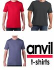 5 For $20 Plain T-Shirt Shirt Solid Tee Men's Short Sleeve Red Charcoal Blue