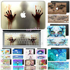 """Pattern Painting Cut-Out Hard Rubberized Case Cover For Macbook Pro 13""""Touch Bar"""