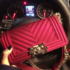 Womens Le Candy Neon Clear Jelly Evening Clutch Hand Bag Chain Boy Bag Purse