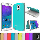 For Samsung Galaxy Note 4 5 S5 6 Shockproof Rugged Hybrid Rubber Hard Case Cover