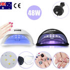 36W LED Light Lamp UV Nail Art Dryer Curing CCFL Gel Gelish Timer Polish Nails
