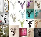 Stag Head Deer Animal Head 3D Wall Mountable Art in Sparkly Bling or Matt Finish