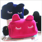Lovely&Cute Kitty Large Capacity Cosmetic Bag with Interlayer