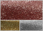 GLITTER FABRIC 1.38M WIDTH SOLD PER METER 3 COLOURS SWAGGING DRAPING CRAFTS