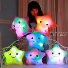 Luminous pillow Glow Star Led Light Pillow plush toys Colorful home decor Gift