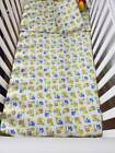 Baby Cot Bedding Set Brushed Cotton 3 Pc, Flat Sheet, Fitted Sheet & Pillowcase.