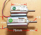 1PCS Used Double Ball Bearing 120V DC Motor Large Torque Micro Spindle Motor