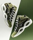 Authentic APE BAPE 1ST CAMO REEBOK QUESTION MITA SNEAKERS NEW 10 10.5 11 GREEN