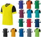 MEN'S V NECK, MOISTURE WICKING, ATHLETIC LOOK T-SHIRT, TWO TONE, S M L XL 2X 3X