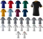 MEN'S RINGER T-SHIRT, COTTON/POLY JERSEY KNIT, SHORT SLEEVE, CREW NECK, S-3XL image