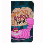 Alice in Wonderland Cheshire Cat Leather Wallet Card Case For iphone 6 6S Plus