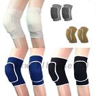 New 1Pair Sponge Knee Support Brace Sports Protection Knee Thin Pad