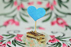blue wedding cake toppers