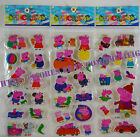 Puffy Stickers Full Set or Any 4 Peppa Pig Hello Kitty Barbie Dora US Seller