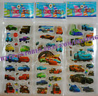 Puffy Stickers Full Set or Any 4 Cars Big Hero 6 Letters Numbers US Seller