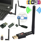 150 300 600Mbps Dual Band 2.4/5Ghz WiFi Wireless USB Adapter 802.11AC W/ Antenna
