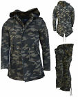 ARMY Camouflage Parker jacke Winter jacket  Just Rebel