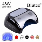 Professional 48 W CCFL LED Lamp Nail Dryer For Nail Gel Polish Curing US EU Plug