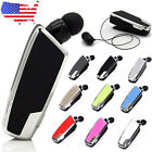 Original FZX-1108 Wireless Bluetooth Vibrating Alert Clip Headset Earphone Cable
